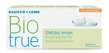 Biotrue OneDay for Astigmatism - 30 Lenti