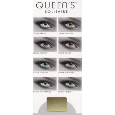 Queen Solitaire Multifocal - 2 Lenti