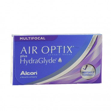 Air Optix plus HydraGlyde Multifocal - 3 Lenti