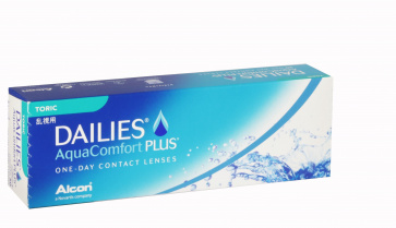 Dailies Aqua Comfort Plus Toric - 30 Lenses