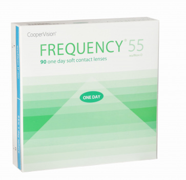 Frequency 1-Day 55% - 90 Lenses
