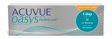 Acuvue OASYS 1-Day with HydraLuxe technology for Astigmatism - 30 Lens