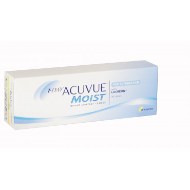 1-Day Acuvue Moist for Astigmatism - 30 Lenses