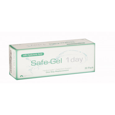 Safe-Gel 1 Day - 30 Lenses