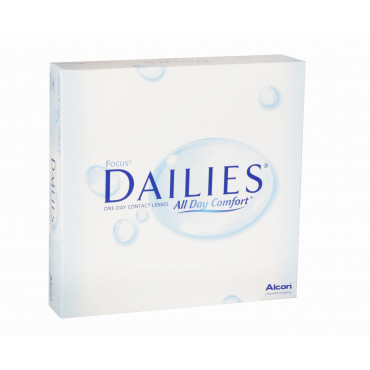 Dailies All Day Comfort - 90 Lenses