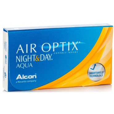 Air Optix Night and Day Aqua - 3 Lenses