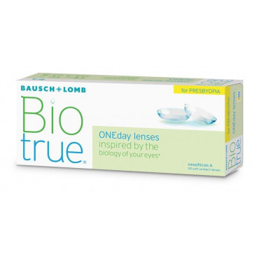 Biotrue Oneday for Presbyopia - 30 Lenses