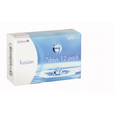 Safe-Gel 7 Days Fusion TSP - 12 Lenses