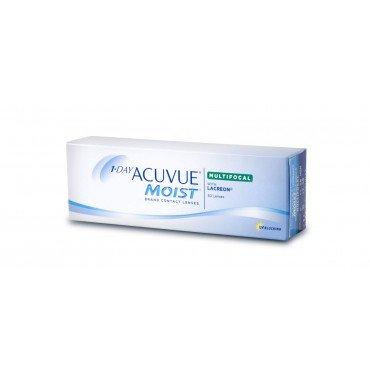 1-Day Acuvue Moist Multifocal - 30 Lenses