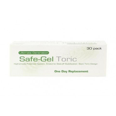 Safe-Gel 1 Day Toric - 30 Lenses