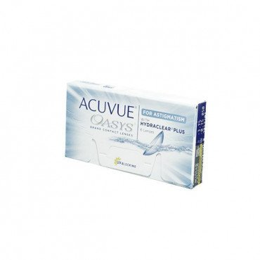 Acuvue Oasys for Astigmatism - 6 Lenses