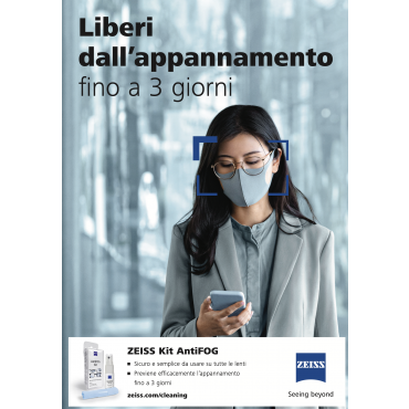 Kit Antiappannamento Zeiss (spray 15 ml + panno)