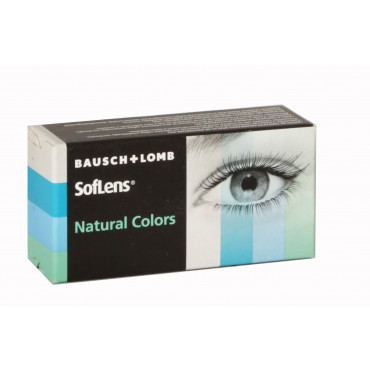 Soflens Natural Colors Plano - 2 Lenses