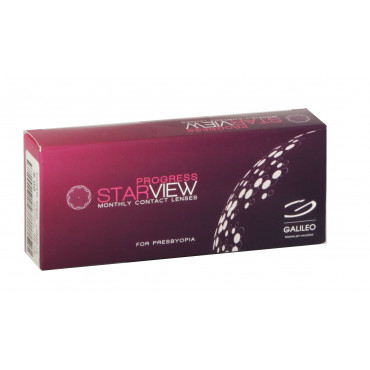 Starview Progress for presbyopia - 3 Lenses