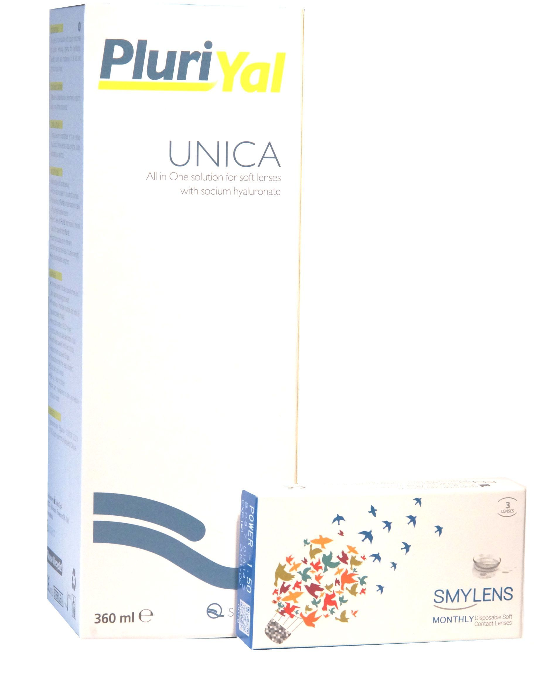 SUPEROFFERTA: Smylens 3 Lenti+ Soluzione Unica PluriYal 360ml ...